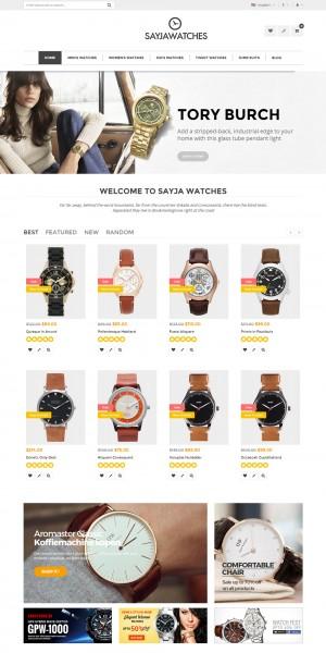 Sayja - Multipurpose Responsive Magento Theme