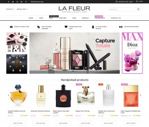 Fleur - Responsive Magento Perfume Theme