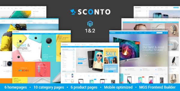Sconto - Premium Magento 2 and 1 Theme